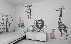 kids room vinyl decals